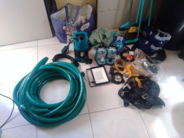 Kit completo de Equipamentos para Limpeza de Caixa D'água