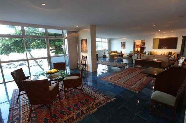 ATLÂNTICA, Posto 4! Clássico apartamento frontal mar, sol manhã, 677 m², 3 vagas! - Foto 10