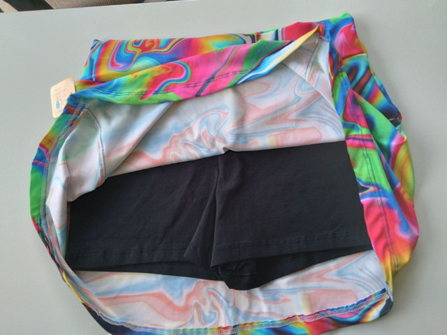 Short saia liso ou estampado  - Foto 4