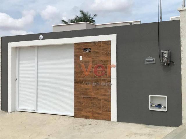 Casa à venda, 89 m² por R$ 159.000,00 - Ancuri - Itaitinga/CE - Foto 2