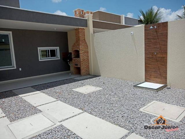 Casa com 3 dormitórios à venda, 98 m² por R$ 295.000,00 - Centro - Eusébio/CE - Foto 2