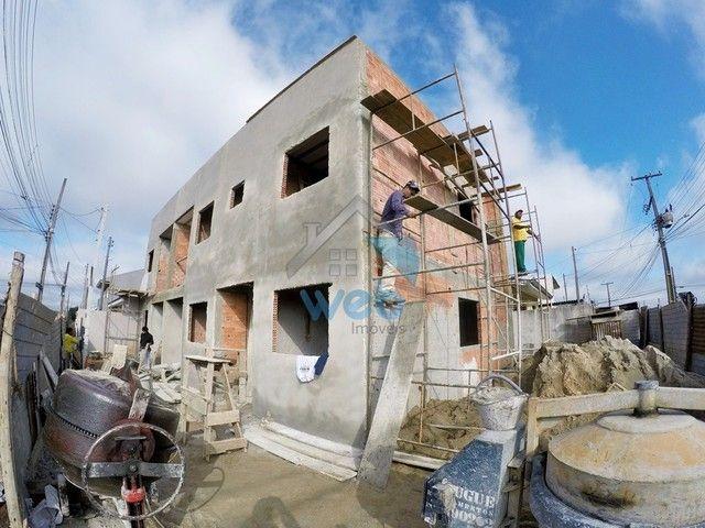 Excelente sobrado de esquina à venda no Bairro Campo de Santana, em fase de construção, co
