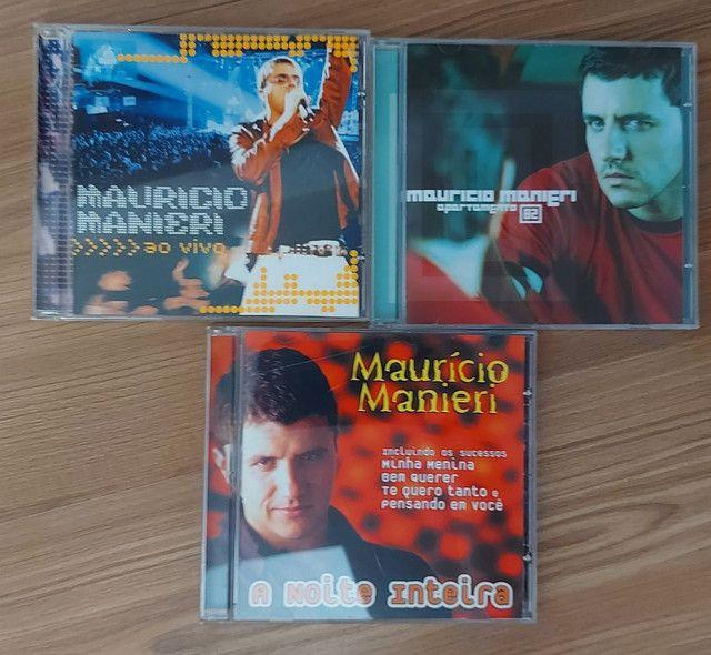Combo Mauricio Manieri - 3 CDs + 1 DVD