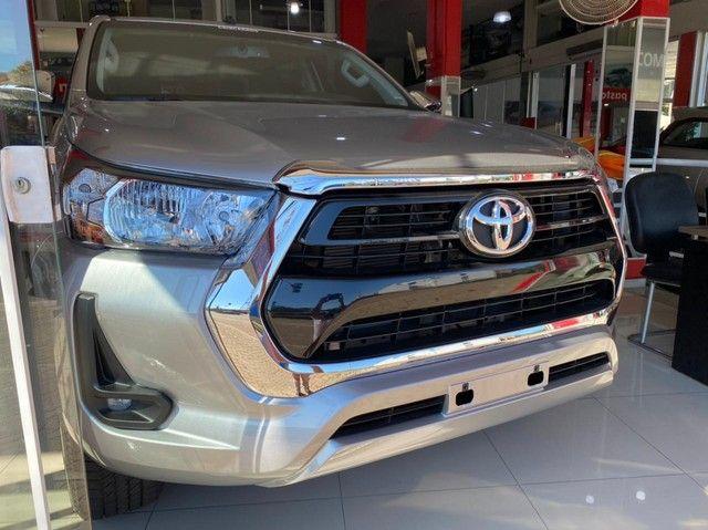 Toyota Hilux Cabine Dupla SRV 2.7 CD 4x2 (Flex) (Aut) - Foto 2