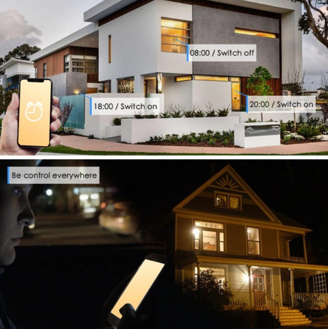 Lâmpada LED inteligente WIFI, Alexa, Google. Cor Branco 15w / equivale o brilho 100w - Foto 2