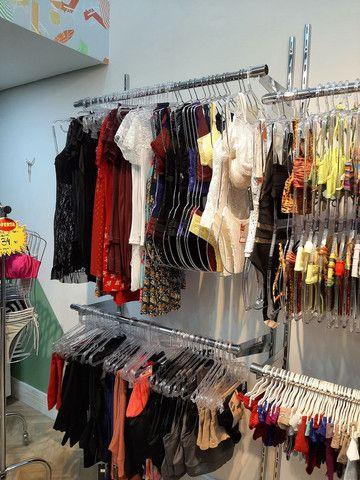 Vendo Estoque de Roupas Femininas, Lingerie, Pijamas  Fittnes, Calçados e Sandálias  - Foto 3