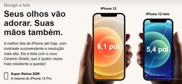 iPhone 12 Apple 128GB Preto, Novo, Lacrado, NF - Foto 4