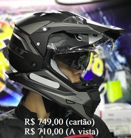 Capacete Off-Road helt e X11 a partir de R$ 520,00 JL Parts - Foto 7