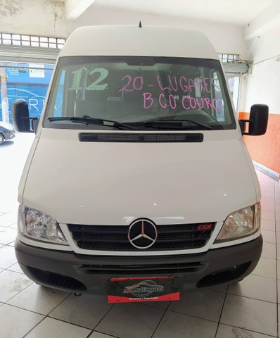 SPRINTER 2011/2012 2.2 4025 VAN LUXO 413 RODADO DUPLO 19+1 LUGARES DIESEL 3P MANUAL