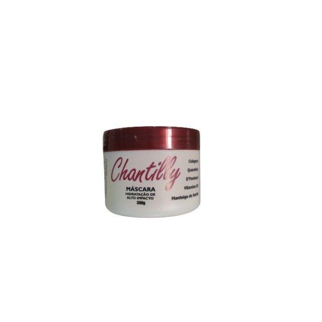 Kit de Tratamento Capilar de Chantilly com Shampoo Condicionador e Máscara de Hidratação - Foto 4