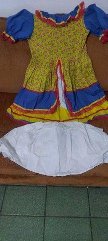 Lindo vestido de festa junina - Foto 4