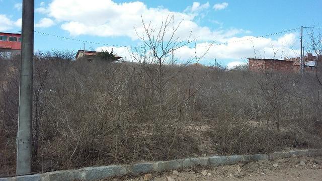 Um terreno no Loteamento Fazenda Riacho do Mel