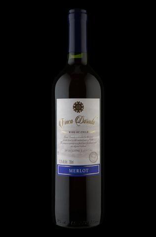 Vinho Tinto Chileno Finca Dorada Merlot 2017 750 ml