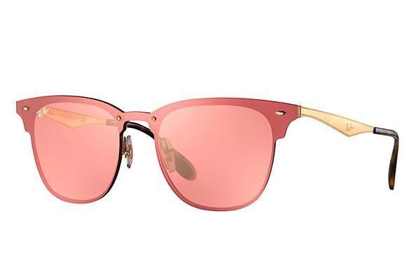Óculos Ray Ban Clubmaster Blaze RB3576 Várias Cores Original Com Garantia  de 1 ano 4d8d288b59