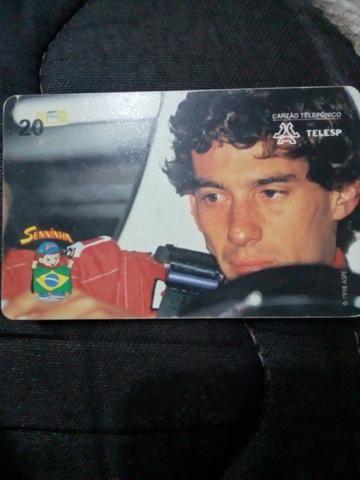 Cartão Ayrton Senna