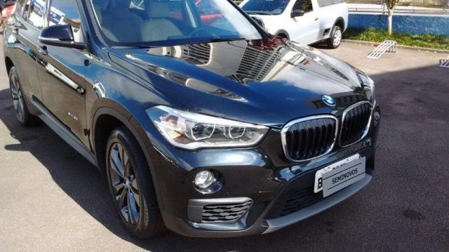 BMW X1 4X2 NAC. SDRIVE20I GP 2.0 16V 192CV ACTIVEFLEX Preto 2016/2016
