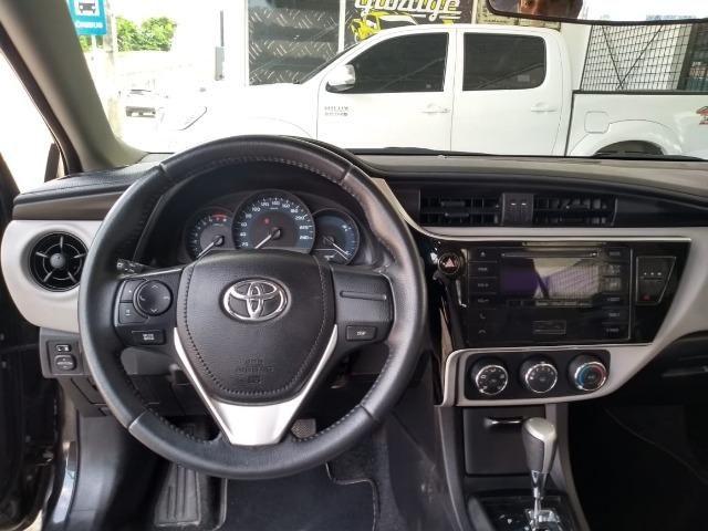 Toyota- Corolla GLI Upper 1.8 Aut. Flex, Ipva 2019 pago, Completo, Garantia até 2020, Novo - Foto 7