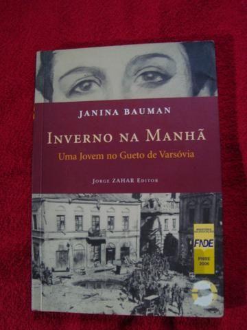 Livro: Inverno na Manhã - uma Jovem no Gueto de Varsóvia - Ótimo Estado