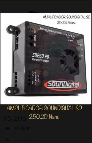 AMPLIFICADOR SOUNDIGITAL SD 250 2D Nano