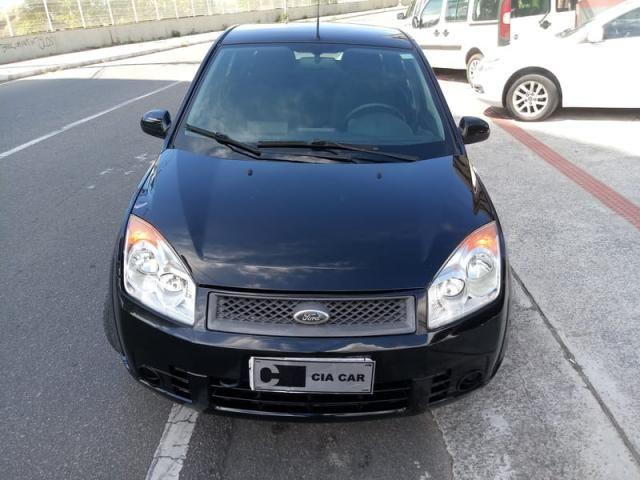 Fiesta Sedan Flex Completo Baixa KM Ideal UBER! Troco Financio - Foto 2