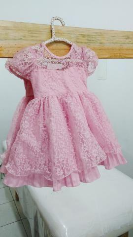 Vestido Festa Infantil Tam 1 - Foto 3