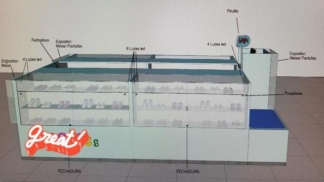Quiosque 9,2 m² - Foto 2