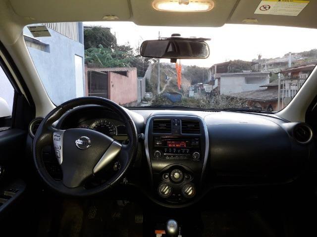 Nissan March SV 1.6, passo financiamento. Aceito pagar no meu nome - Foto 3