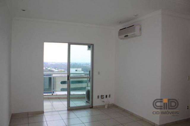 Apartamento com 3 dormitórios à venda, 85 m² por r$ 360.000 - alvorada - cuiabá/mt - Foto 2