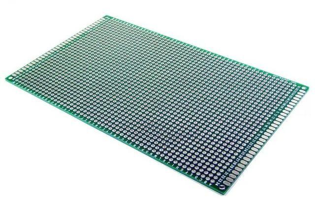 COD-CP121 Placa De Circuito Impresso Dupla Face 9x15 Cm Arduino Automação Robotica - Foto 2