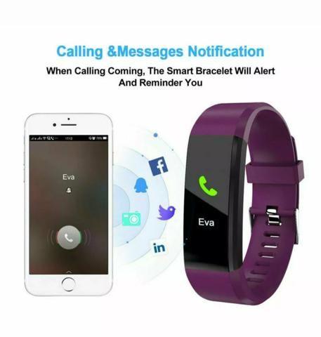 Relógio Pulseria Bluetooth inteligente - Foto 5