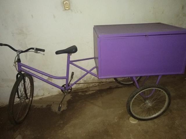 Bike com baú
