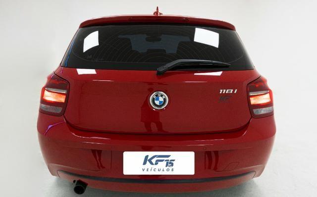 BMW 118i Turbo Gasolina 2013 Vermelho Completo - Foto 3