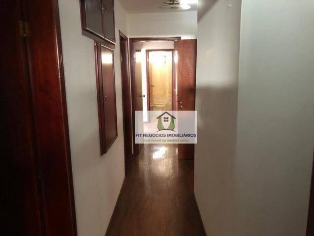 Apartamento com 4 dormitórios para alugar, 190 m² por R$ 2.700/mês - Centro - São José do  - Foto 10