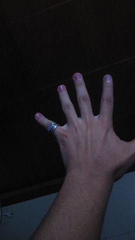 Dois anéis de prata