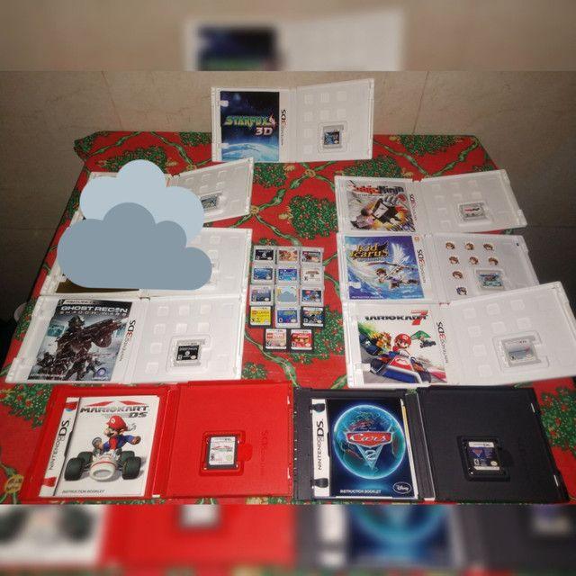 Coleção com 20 Jogos Impecáveis 3DS/DS -Sem juros - Kit Pack Lote - Foto 2