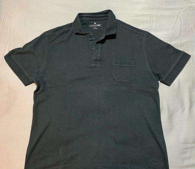 Camisa polo Crowford preta M