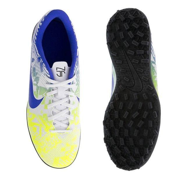 Chuteira Society Nike Vapor 13 Club - Tam 40 - Foto 3