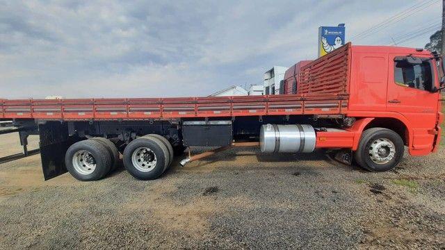 MB Atego 2425/2008 Truck Carroceria em ótimo estado!!! - Foto 5
