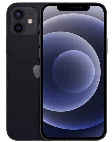 iPhone 12 Apple 128GB Preto, Novo, Lacrado, NF