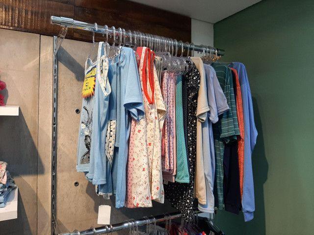 Vendo Estoque de Roupas Femininas, Lingerie, Pijamas  Fittnes, Calçados e Sandálias  - Foto 4