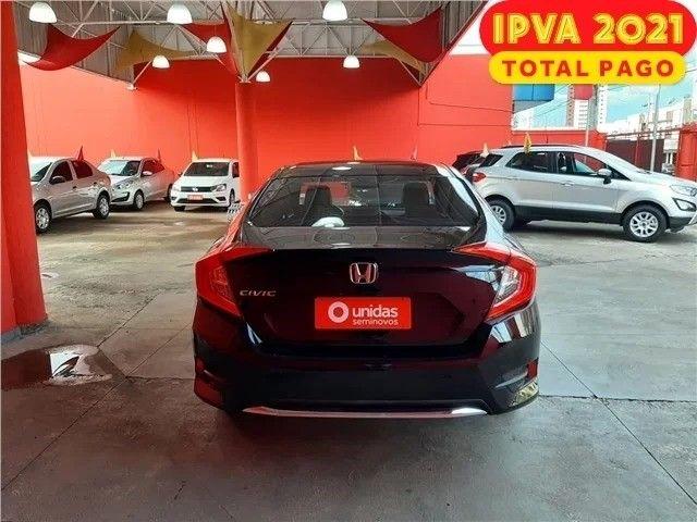 Honda civic 2.0 Ex 2020 IPVA GRÁTIS  - Foto 6