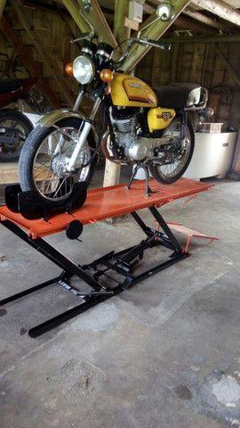 Elevador para motos 350kg ZAP 24 horas fábrica  - Foto 3