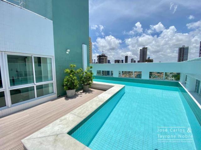 Apartamento de 1 quarto com vista para o mar - Manaira - Foto 8