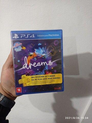 Dreams jogo para PS4 novo lacrado