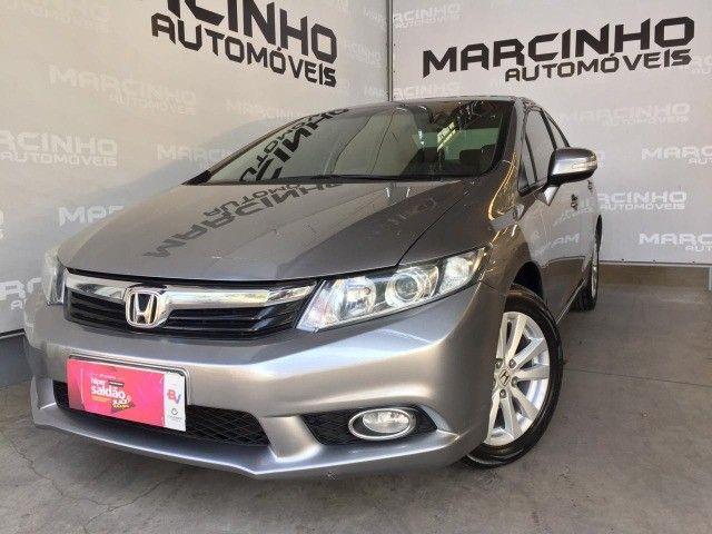 """Civic Sedan LXR 2.0 Flexone 16V Aut. """"Carro Impecável-Pneus Novos"""""""
