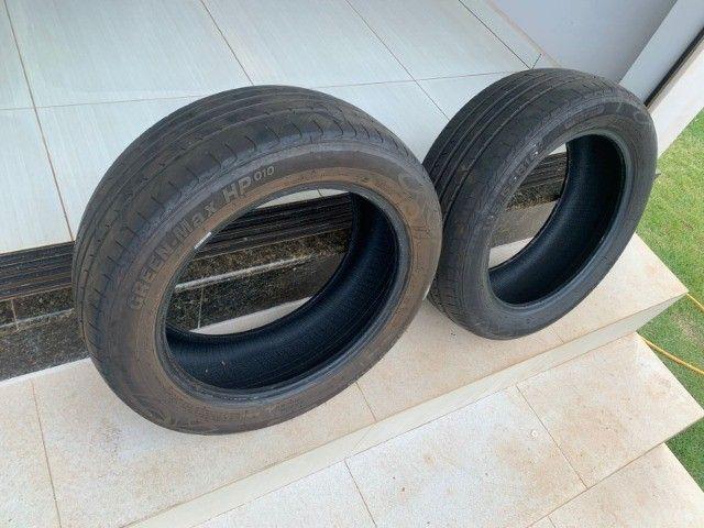 Pneus aros 16 usados (o valor é para os dois pneus)