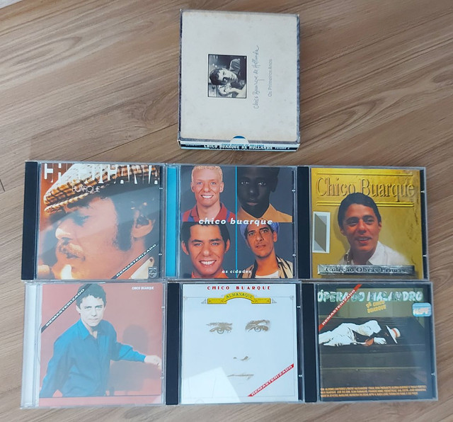 9 CDS CHICO BUARQUE