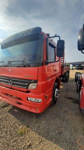 MB Atego 2425/2008 Truck Carroceria em ótimo estado!!! - Foto 2