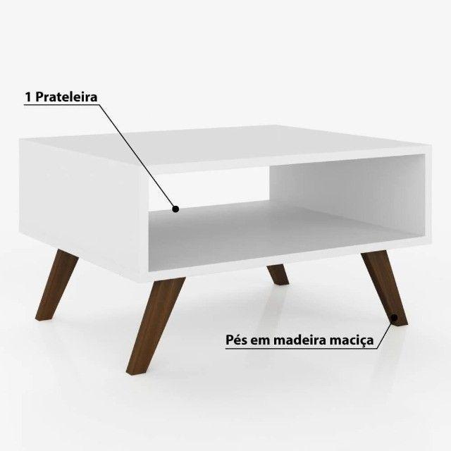 Mesa de Centro Lia Branco! 12x de 14,08 - Foto 2