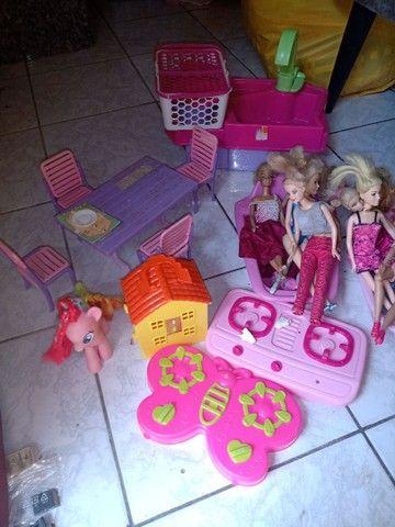Super lote da Barbie - Foto 2
